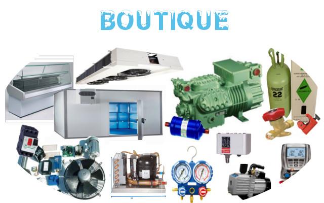 Fournisseurs matériel frigorifique