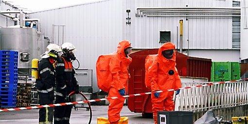 Fuites d'ammoniac dans l'Ouest