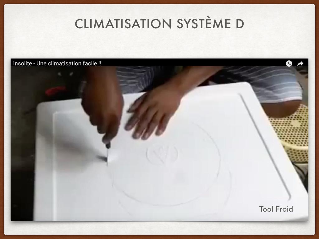 Vidéo: Regardez cette climatisation système D