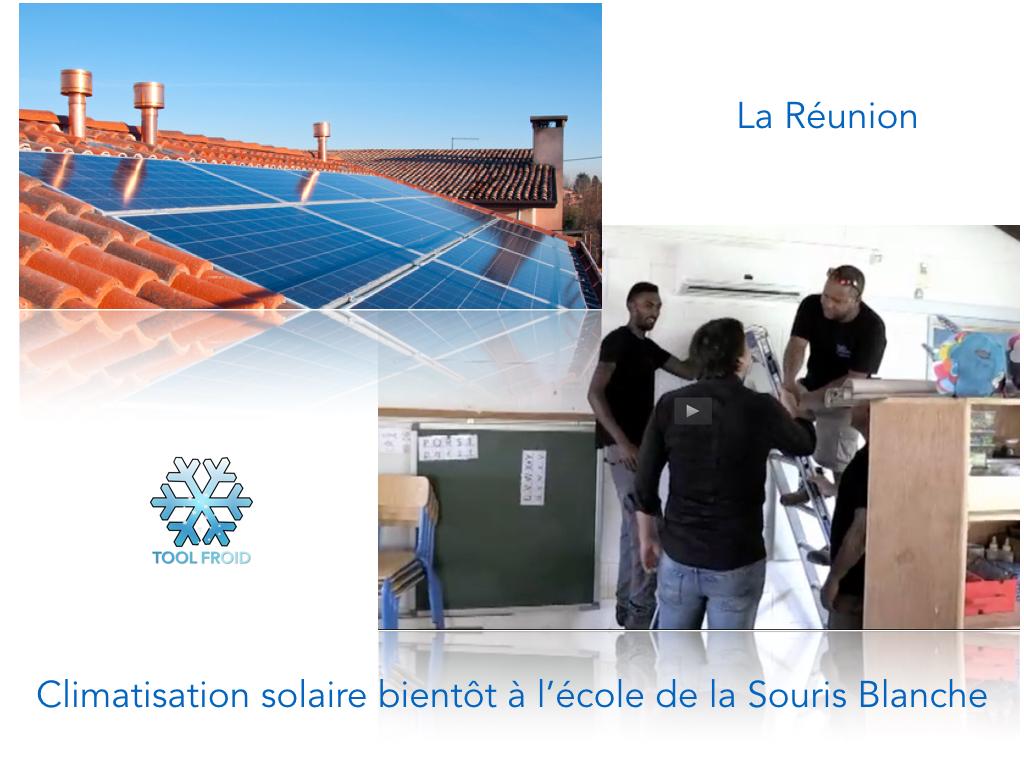 Vidéo: La climatisation solaire bientôt à l'école de la Souris Blanche