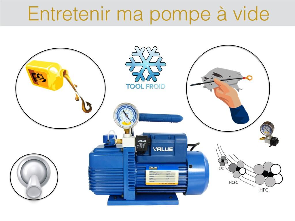"""pompe a vide climatisation Pompe à vide climatisation """"utilisation"""""""