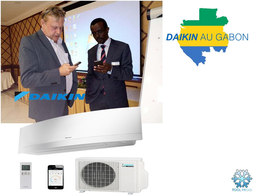 FOBERD Gabon commercialisera la Marque DAIKIN