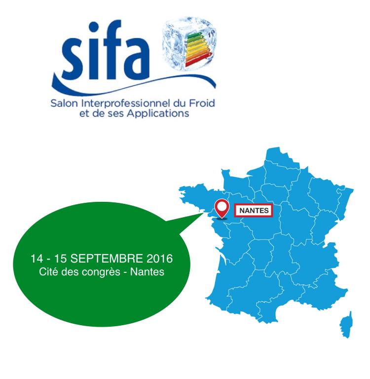 Salon SIFA 2016 à Nantes