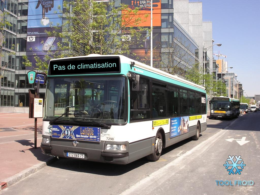 Face à la chaleur, moins d'un bus sur quatre est climatisé
