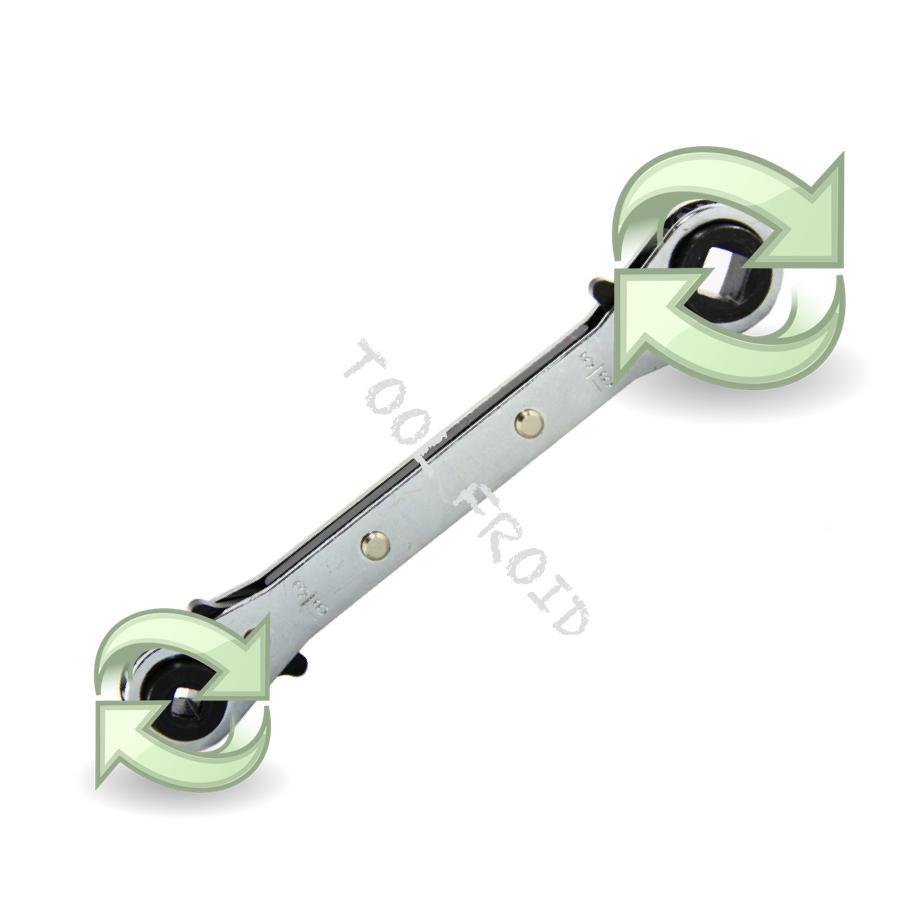 La clé a cliquet vannes compresseur