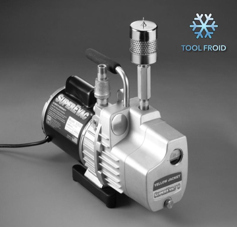 Pompe a vide ammoniac