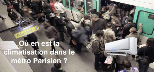 climatisation metro parisien