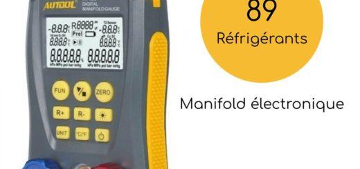 manomètre électronique réfrigération