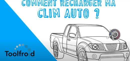 5 étapes pour recharger sa clim auto présentées en vidéo